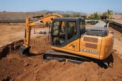מחפר קייס CX130C