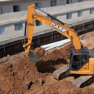 מחפר קייס CX235C SR