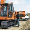 מחפר דוסאן DX140LC