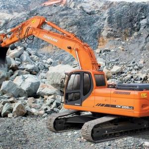 מחפר דוסאן DX255LC