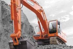 מחפר דוסאן DX300LC