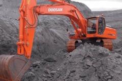מחפר דוסאן DX420LC