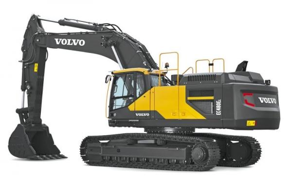 מחפר וולוו EC480E