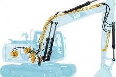 מחפר קטרפילר 313F L GC
