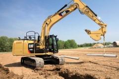 מחפר קטרפילר 316E
