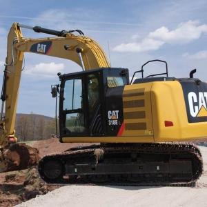 מחפר קטרפילר 318E