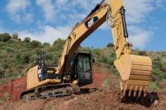 מחפר קטרפילר 320E L
