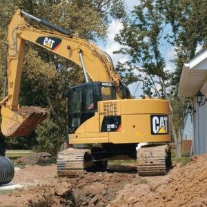 מחפר קטרפילר 321D LCR