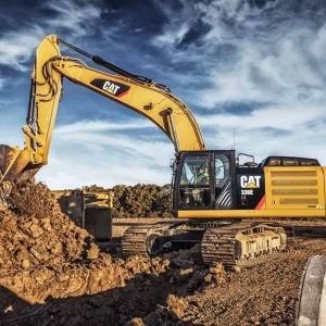 מחפר קטרפילר 336E H Hybrid
