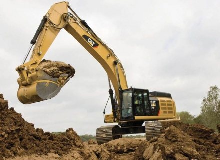 מחפר קטרפילר 349F