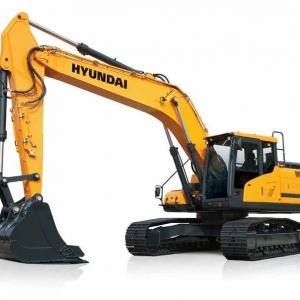 מחפר יונדאי HX260L