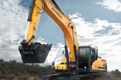 מחפר יונדאי HX300L