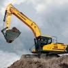 מחפר יונדאי HX330L