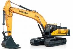 מחפר יונדאי HX480L