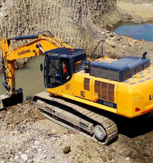 מחפר ליגונג 950E