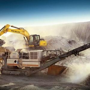 מחפר ניו הולנד E215C