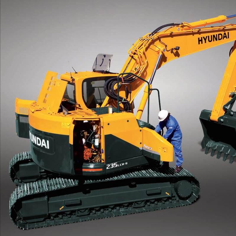 מחפר יונדאי R235LCR-9