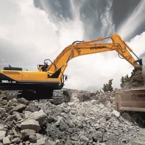 מחפר יונדאי R380LC-9A
