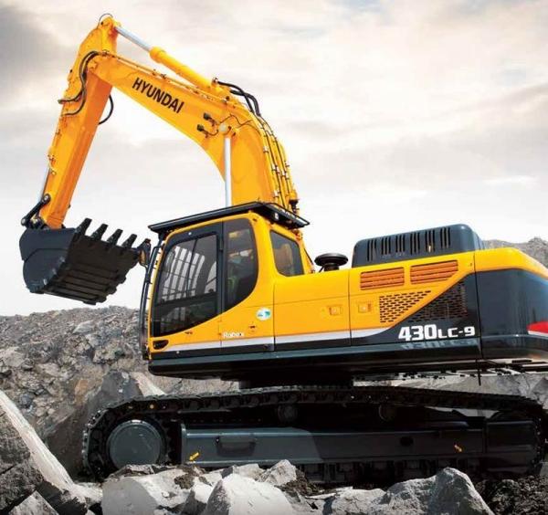 מחפר יונדאי R430LC-9