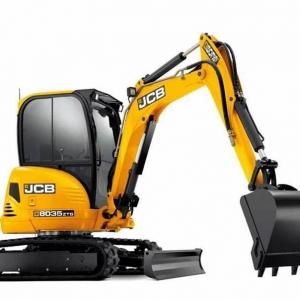 מיני מחפר JCB 8035 ZTS