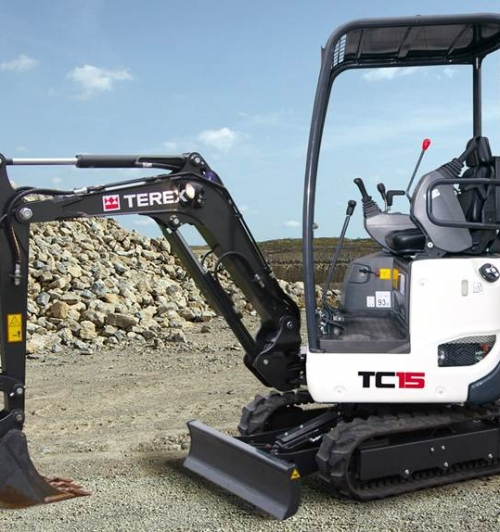 מיני מחפר טרקס TC15