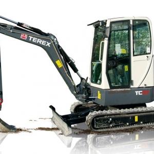 מיני מחפר טרקס TC37