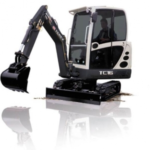 מיני מחפר טרקס TC16