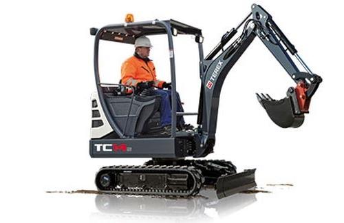 מיני מחפר טרקס TC14-2