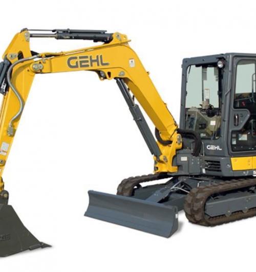מיני מחפר Gehl Z45 GEN:2