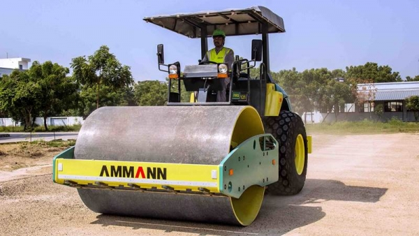 מכבש ויברציוני AMMANN ARS 121 BS III