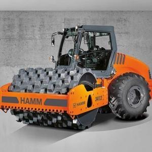 מכבש ויברציוני HAMM 3412 P