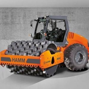 מכבש ויברציוני HAMM 3414 P