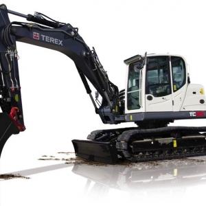 מחפר טרקס TC125