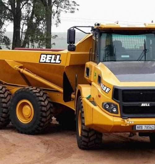 משאית פירקית BELL B18E