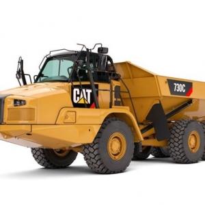 משאית פירקית קטרפילר 725C2