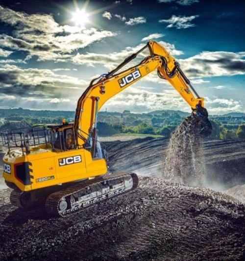 מחפר JCB 210X LC