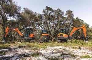 New-Doosan-mini-excavators