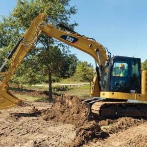 מחפר קטרפילר 315F L