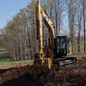 מחפר קטרפילר 318F L