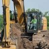 מחפר קטרפילר 336F