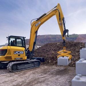 מיני מחפר JCB 100C-1