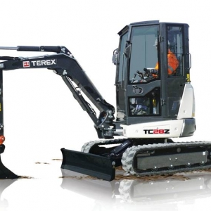 מיני מחפר טרקס TC28z