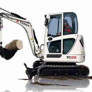מיני מחפר טרקס TC25