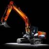 מחפר היטאצ'י 210LC-5 Hybrid