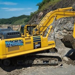 מחפר קומטסו HB365LC-3 Hybrid