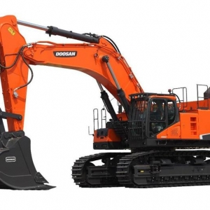 מחפר דוסאן DX800LC-5B